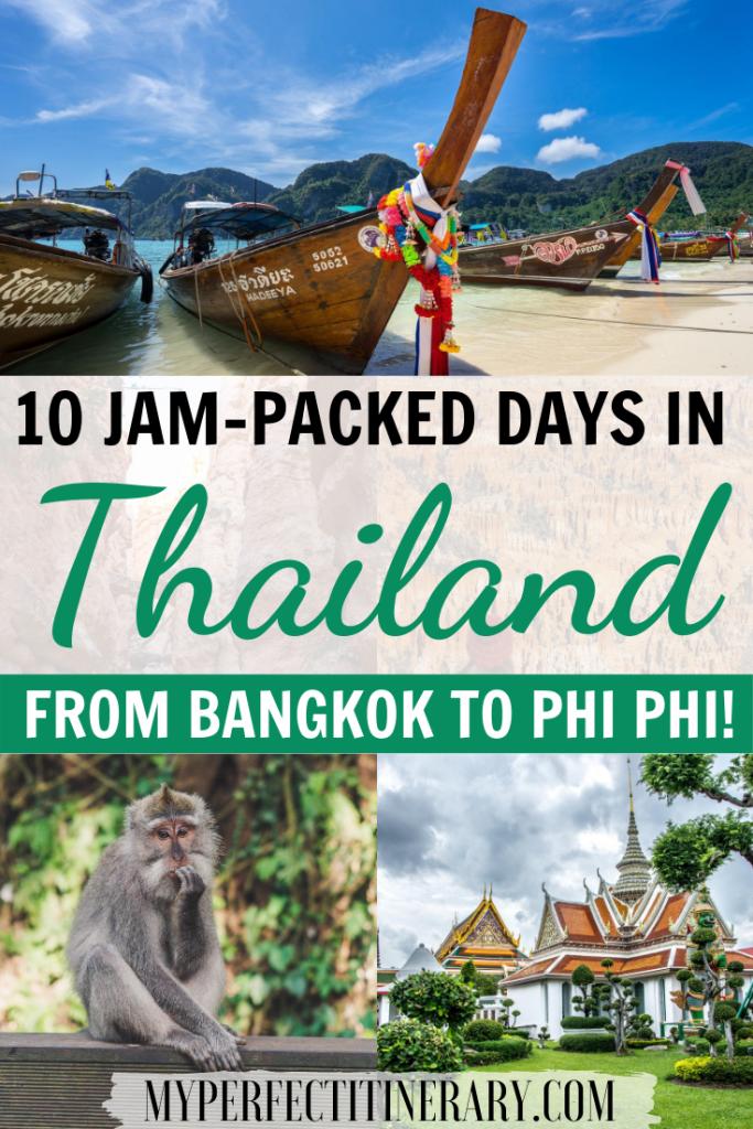 10 Day Thailand Itinerary