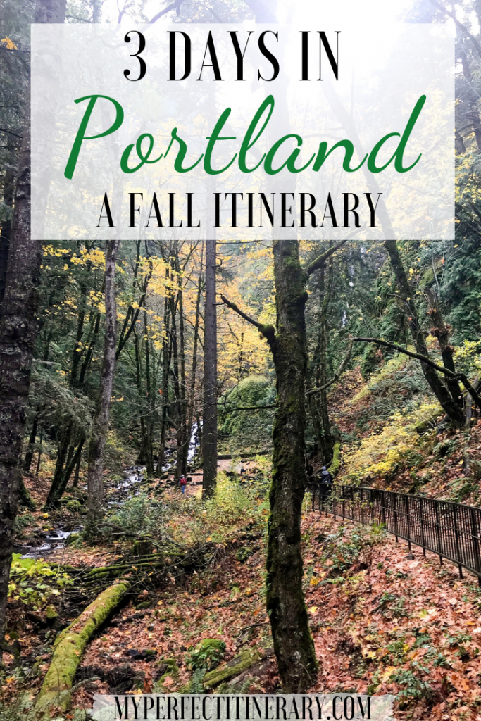 3 Days in Portland Itinerary Pin