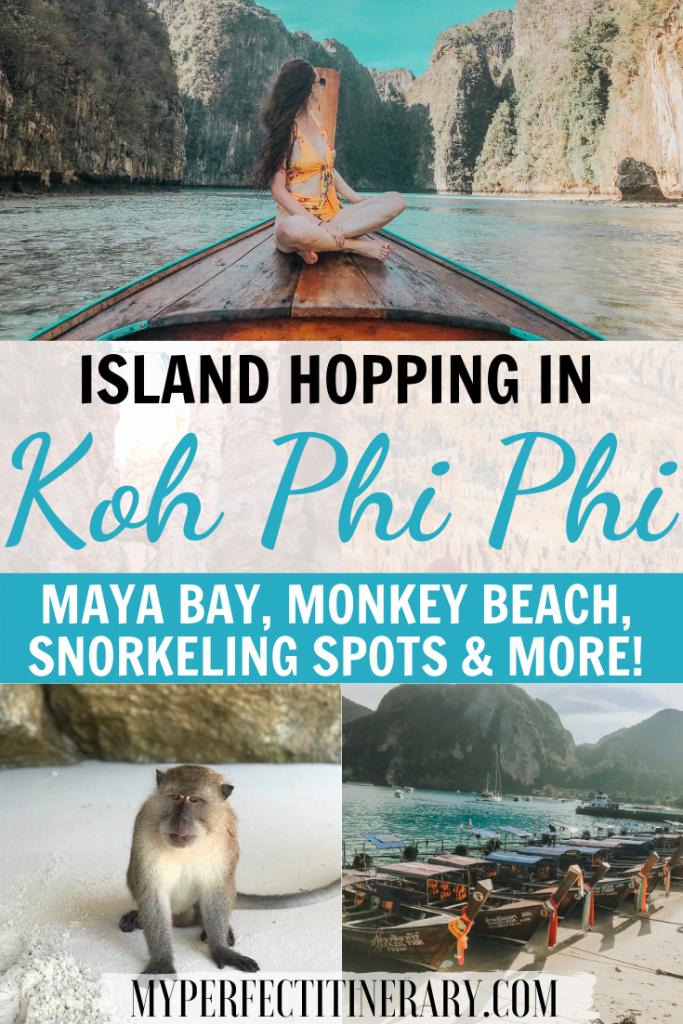 Island Hopping in Phi Phi Island
