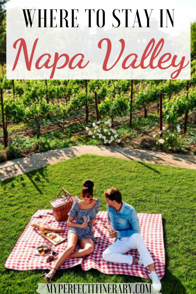 Where to stay in Napa Valley Pin