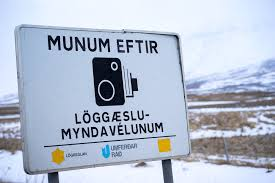 15 Tips for driving in Iceland - watching out for speed cameras