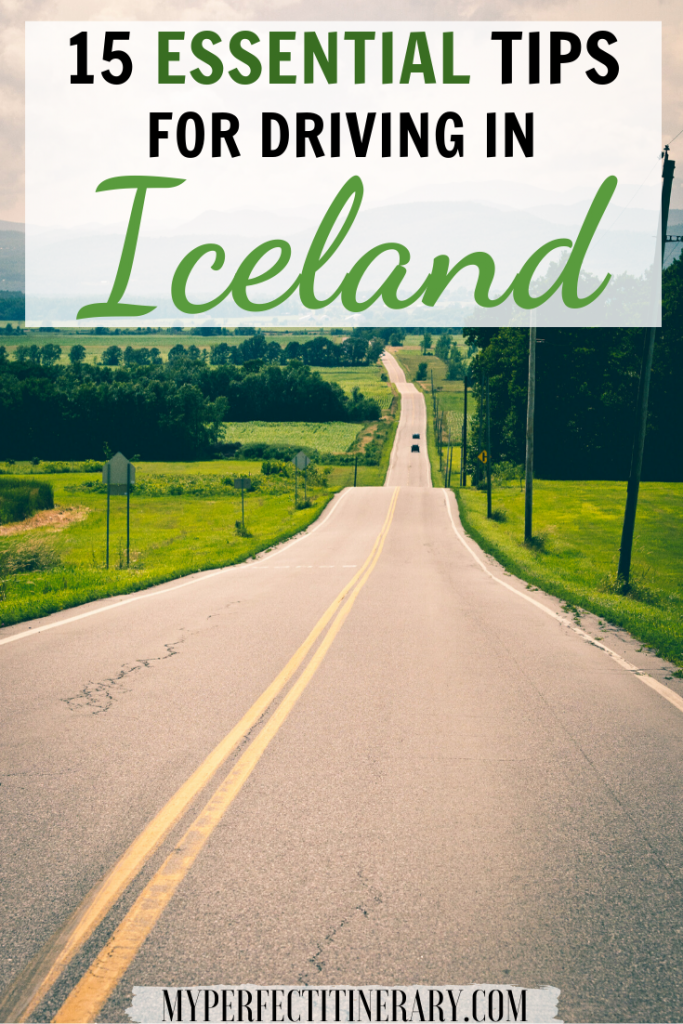 15 Tips for Driving in Iceland Pin