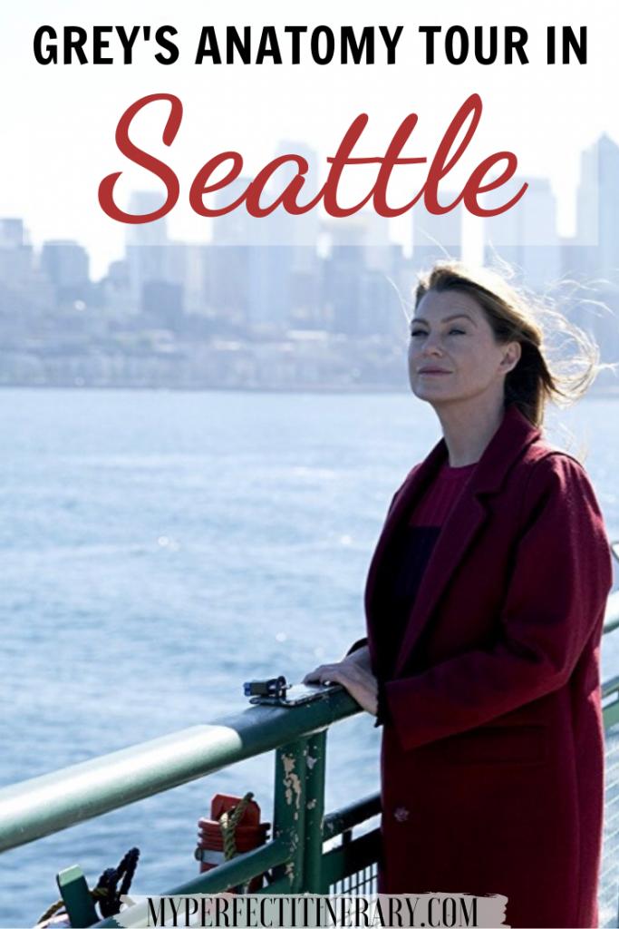 Grey's Anatomy Seattle Tour Pin
