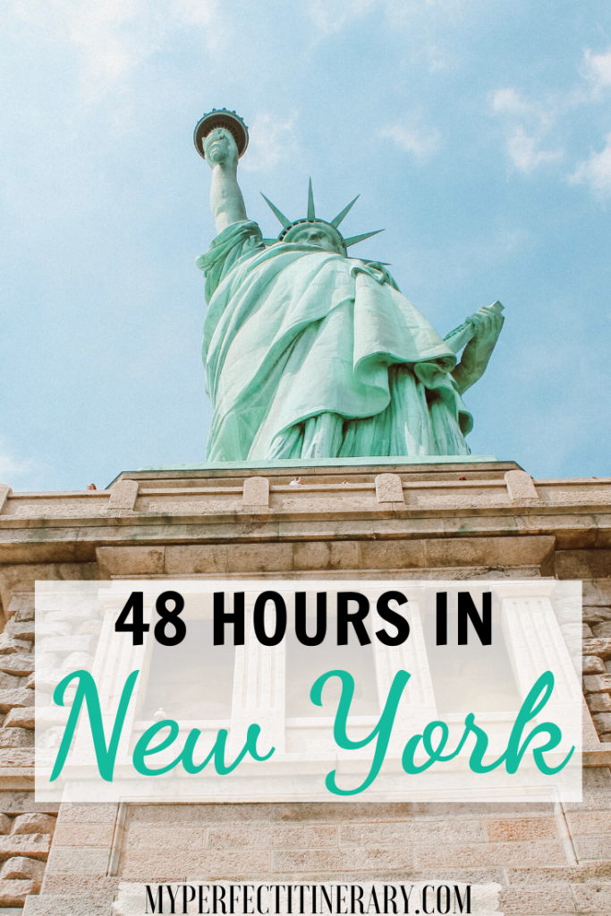 48 Hours in New york city pin