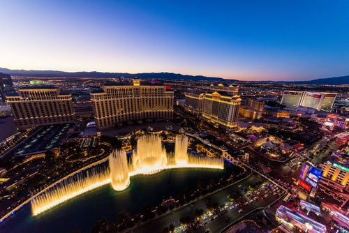 Las Vegas Bellagio Fountains
