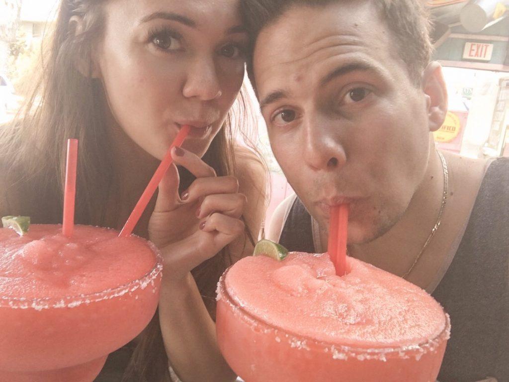 Baja Beach Cafe - Giant Margartias in San diego