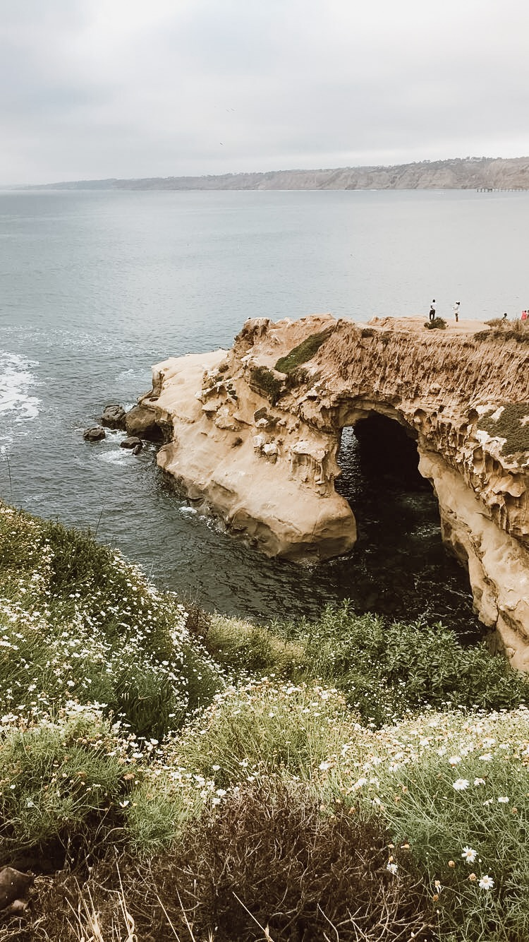 La Jolla Caves in San Diego, California