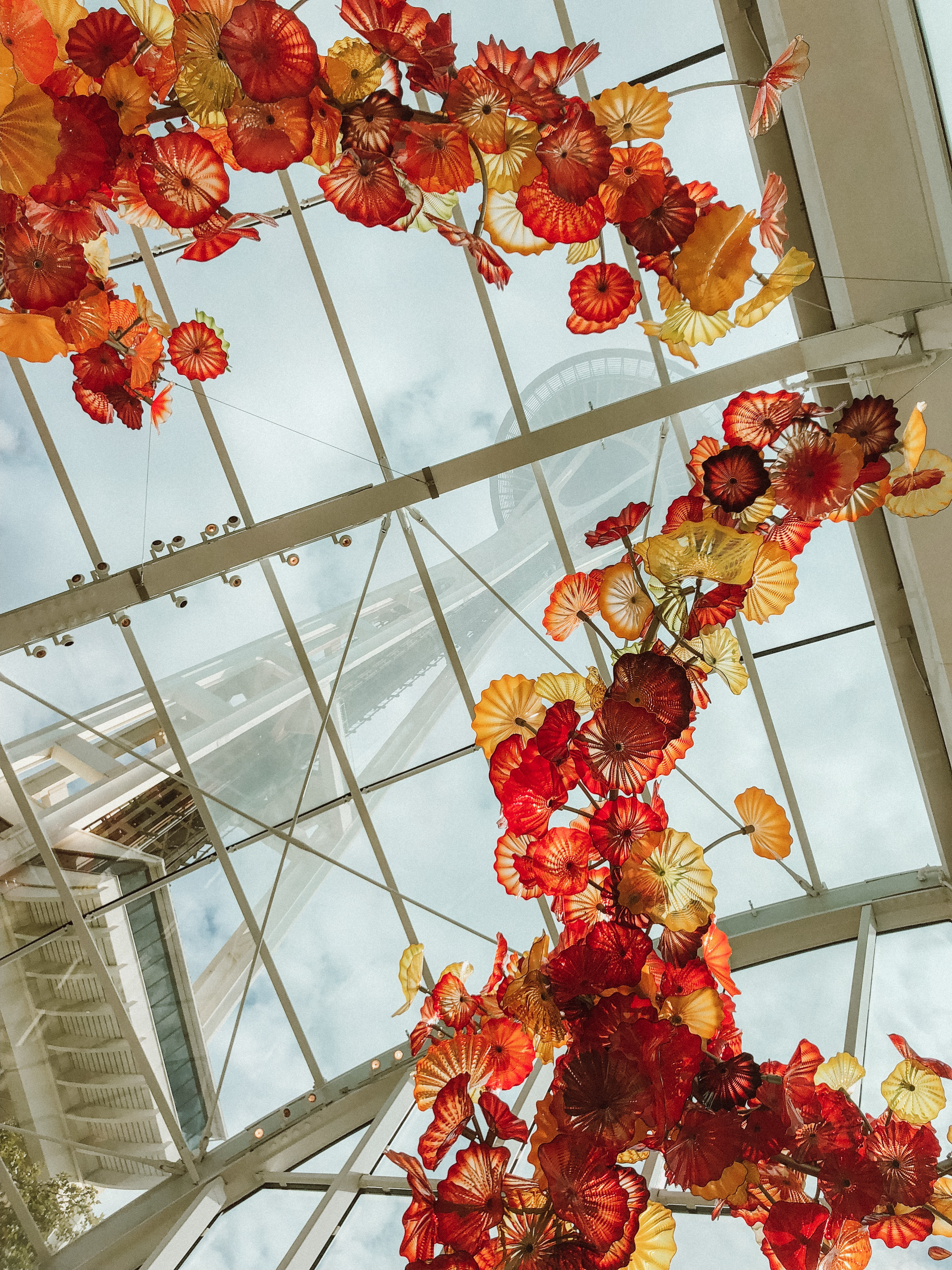 Chihuly Glass Garden in Seattle