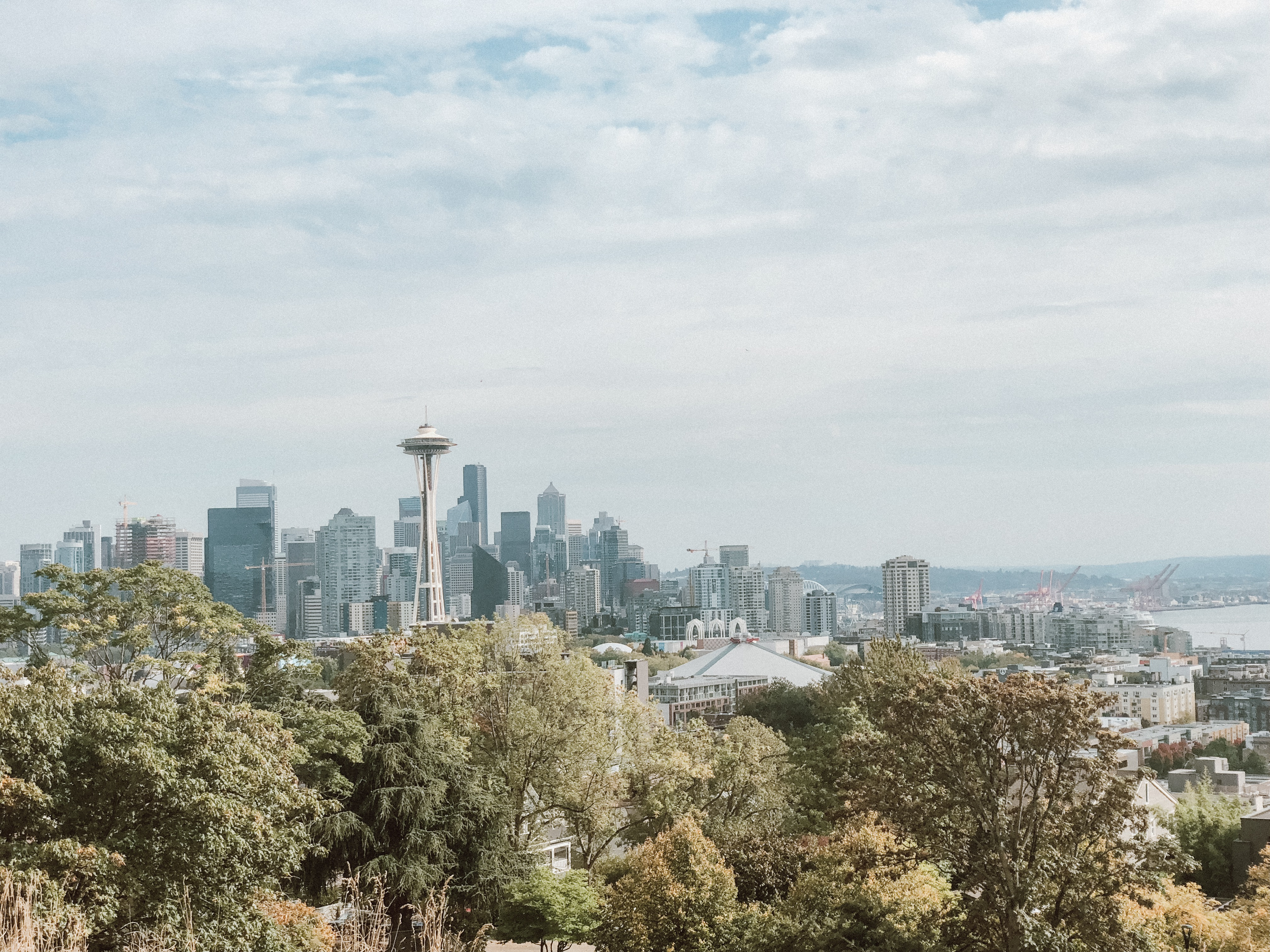 Grey's Anatomy Seattle Tour Kerry Park Scenes