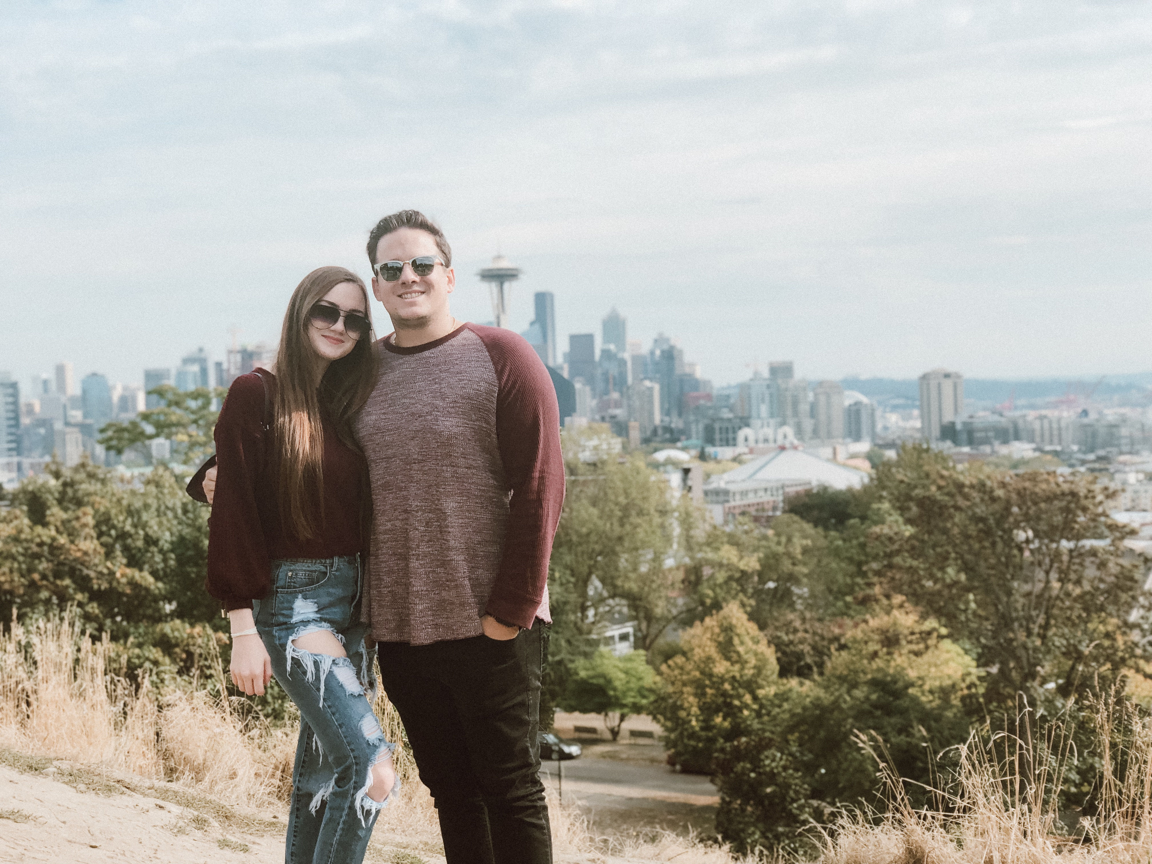 Kerry Park in Seattle - Best view of the Seattle Skyline