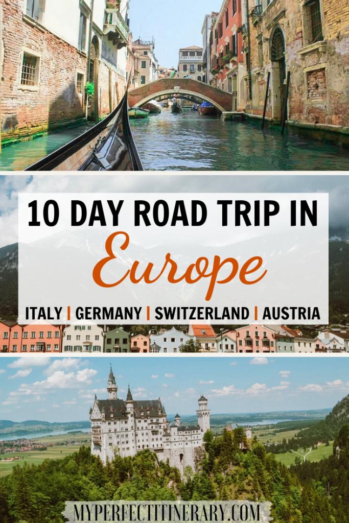 10 day Europe Itinerary