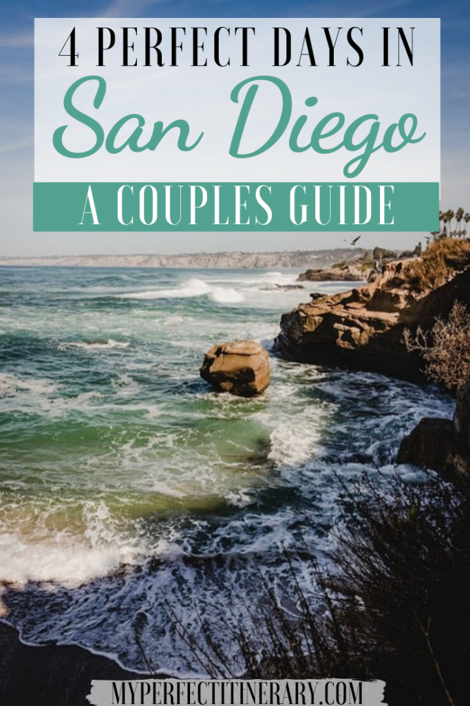 4 day San Diego Itinerary Pin