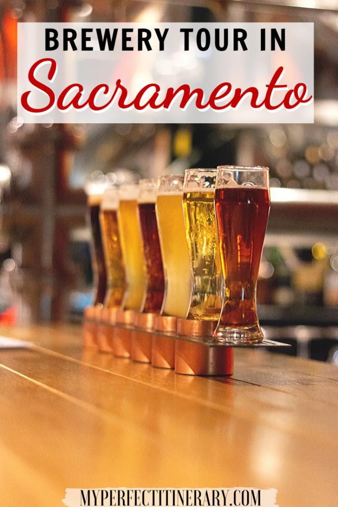 Brewery tour in Sacramento