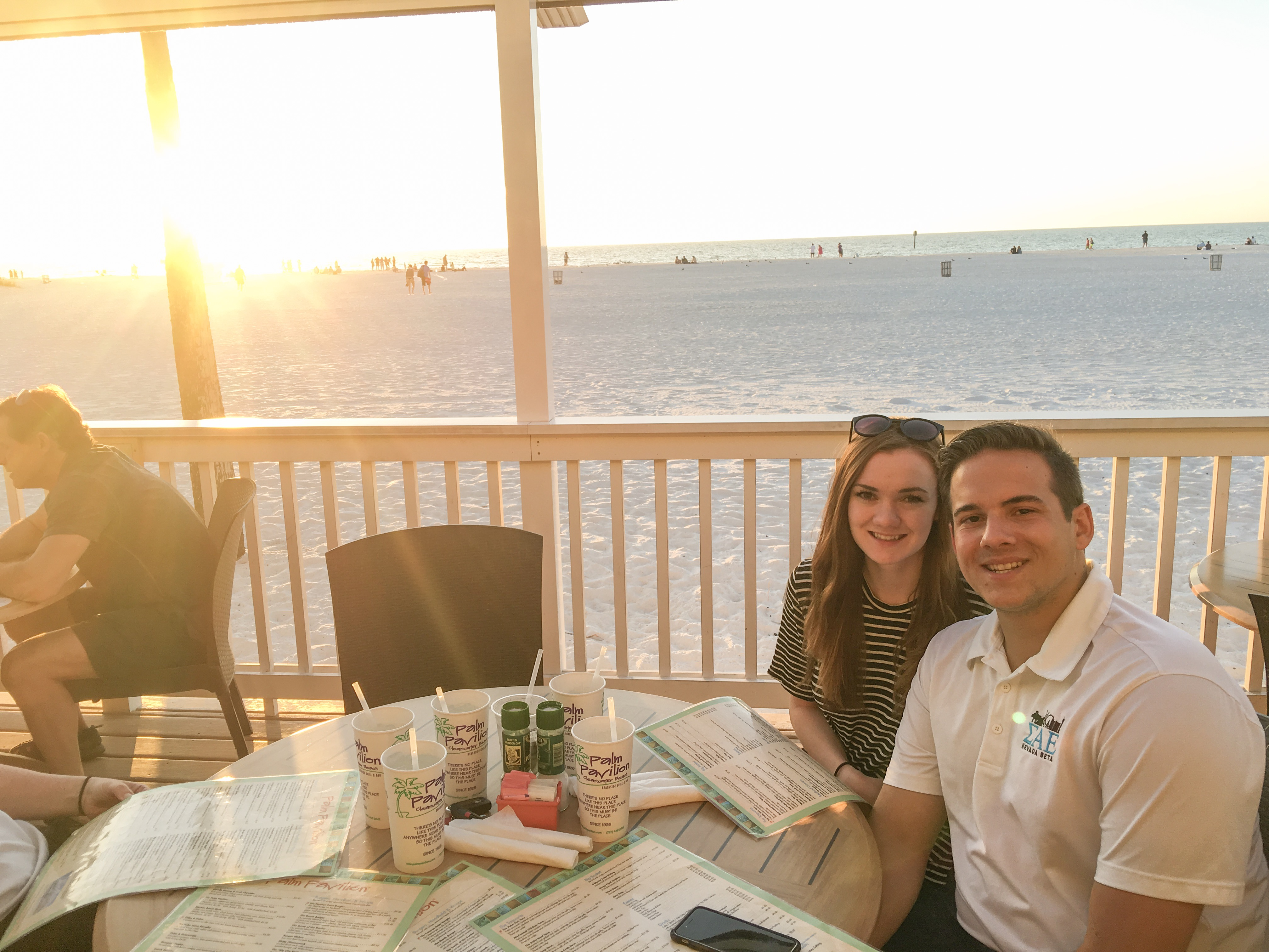 Palm Pavilion Restaurant on Clearwater Beach, Florida