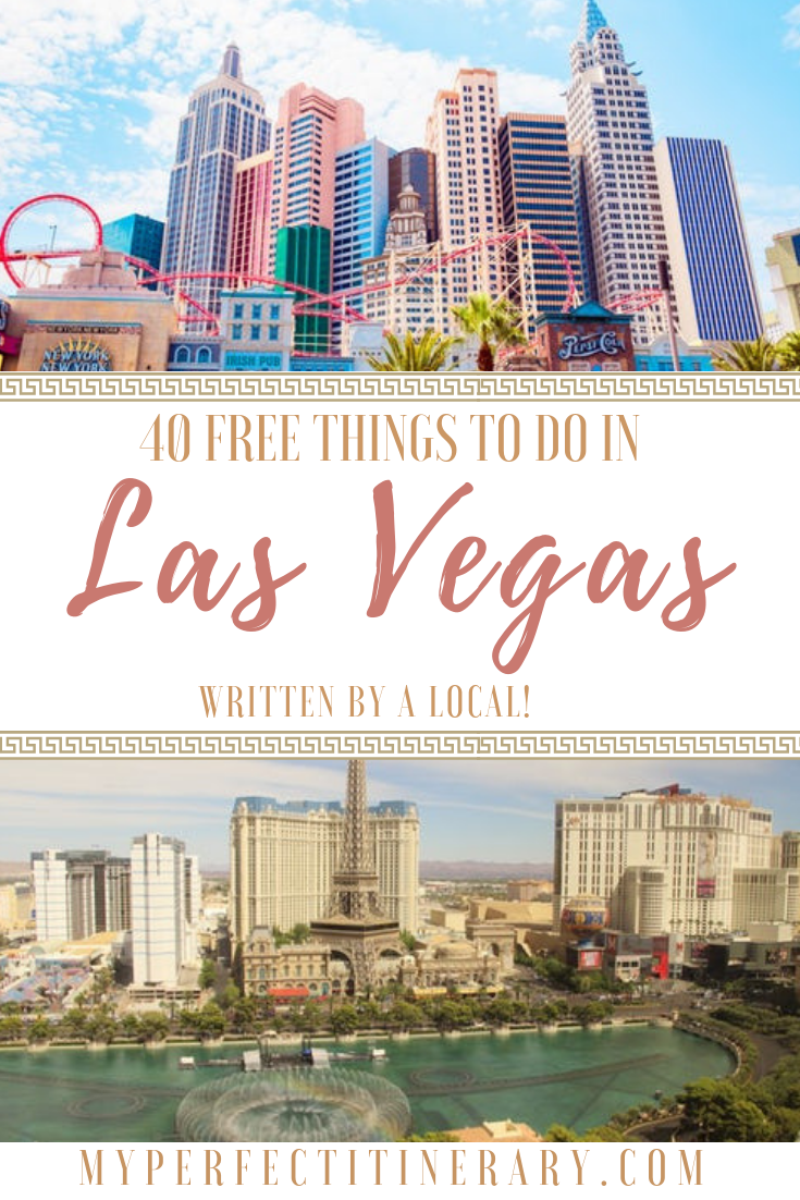 40 FREE things to do in Las vegas, Las Vegas on a budget, Las Vegas Itinerary, best things to do in Las Vegas that are cheap