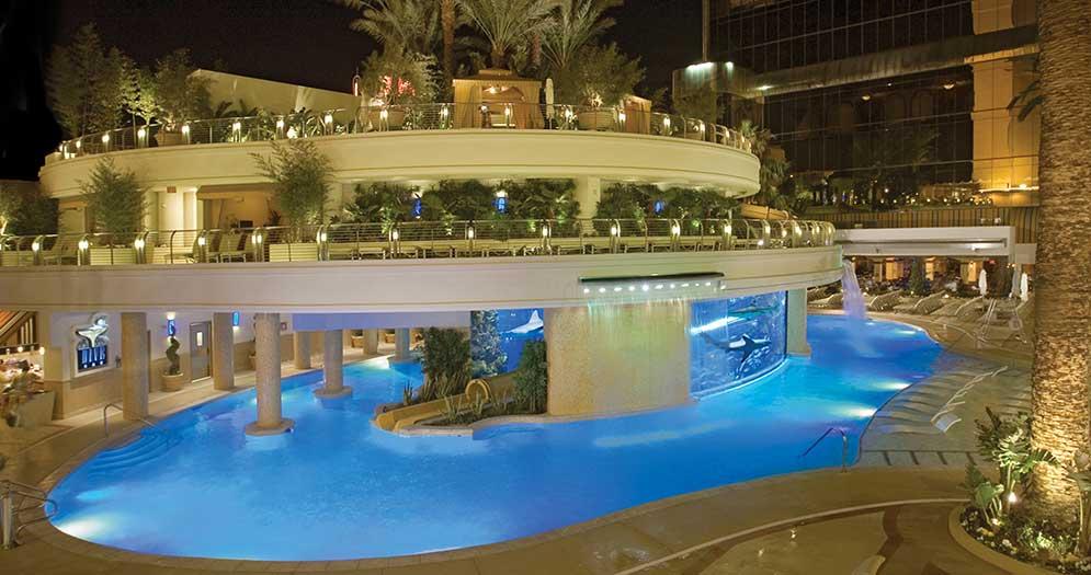 Shark Tank Slide at Golden Nugget in Las vegas