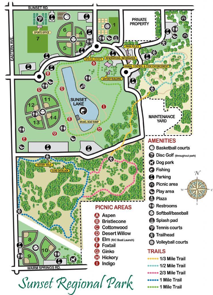 Sunset Park Map