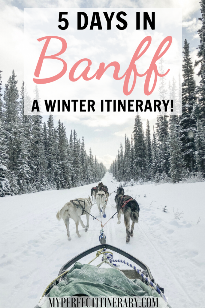 Banff in the Winter Itinerary