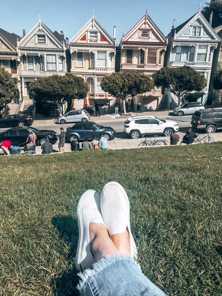 Unique Things to do in San Francisco - The Painted Ladies