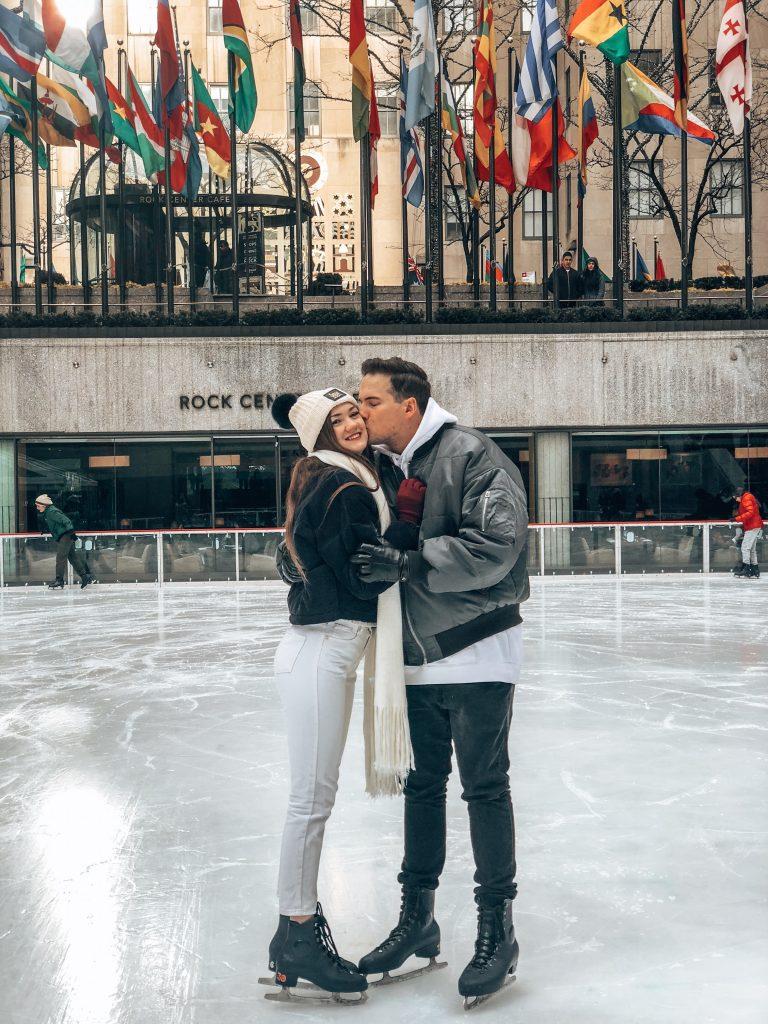 Ice Skating in Rockefeller Center NYC