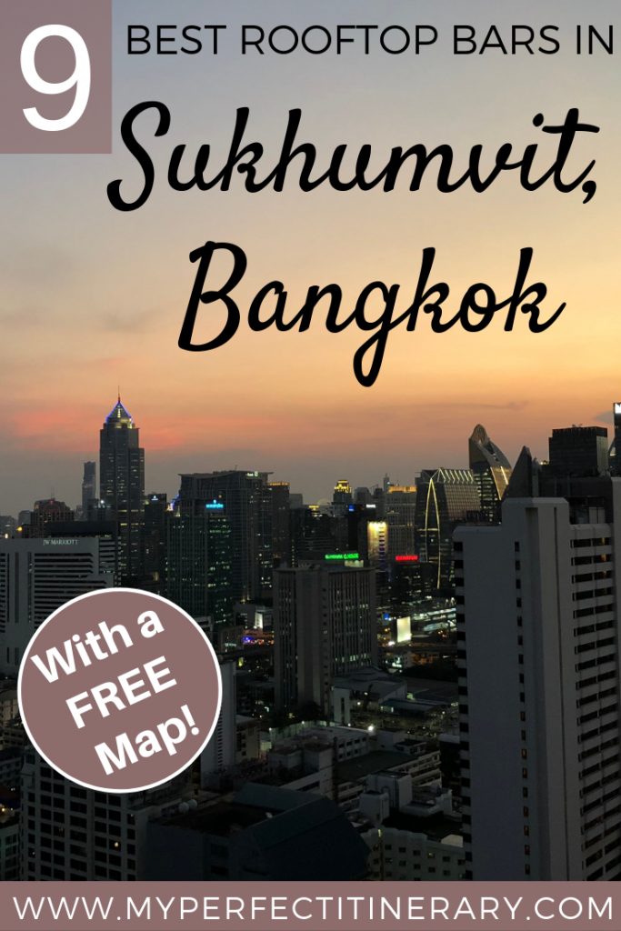 9 Best Rooftop Bars in Sukhumvit Area of Bangkok
