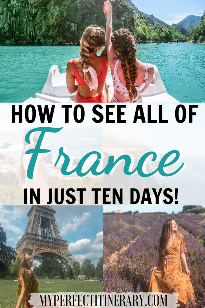 10 Day France Itinerary