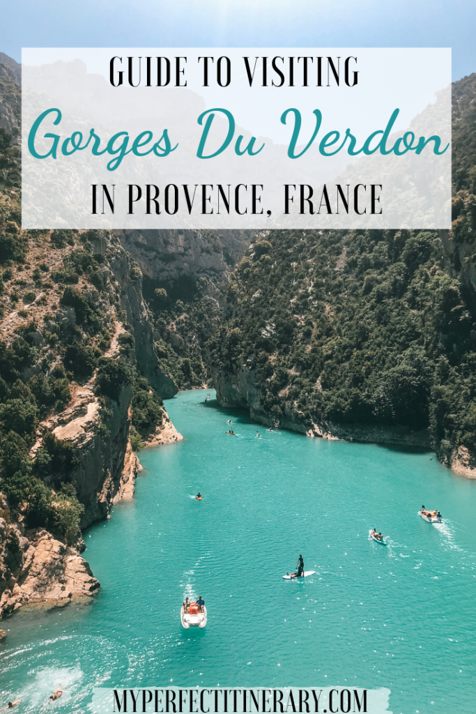 Gorges Du Verdon Travel Guide Pin