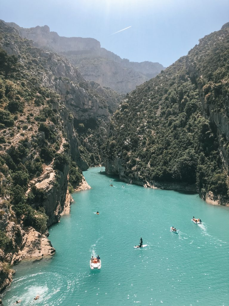 Gorges du Verdon in Provence France
