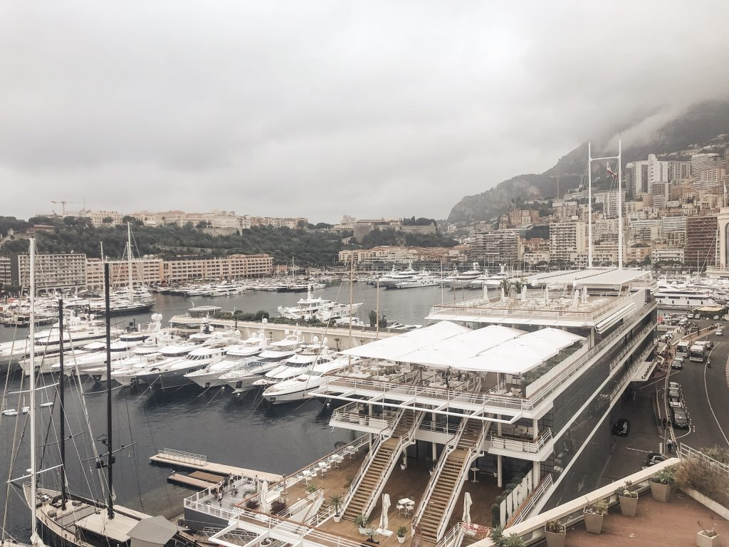 Yachts in Monaco France