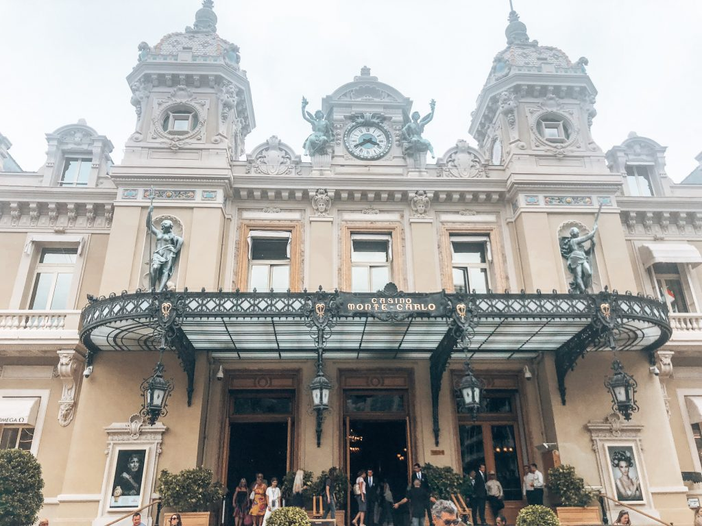 Monte Carlo Casino in Monaco, France