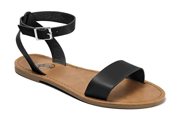 Sandals for summer travel