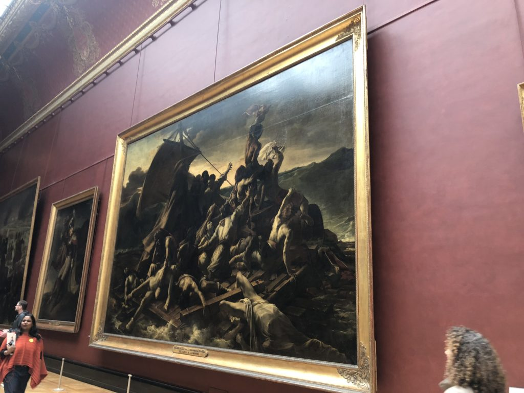 Large Paintings in the Louvre Museum