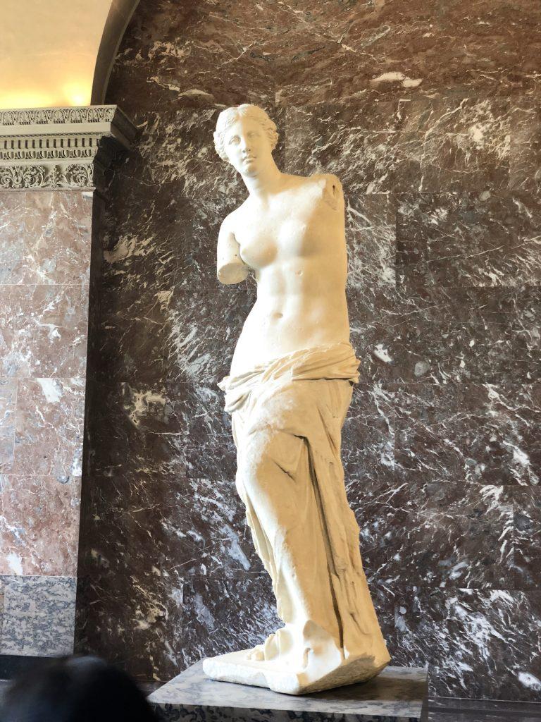 Venus De Milo in the Louvre Museum
