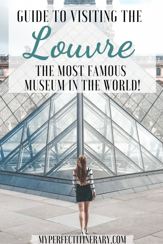 Louvre Travel Guide Pin
