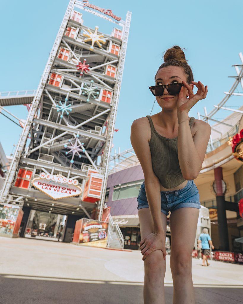 Fremont Street Las Vegas - Best Instagram Spots in Las Vegas