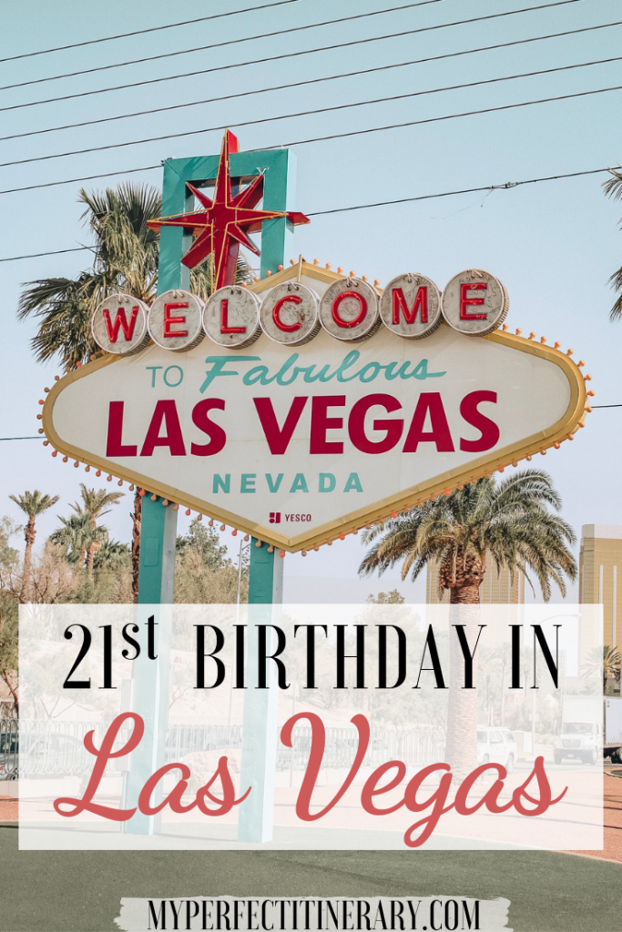 21st Birthday In Las Vegas
