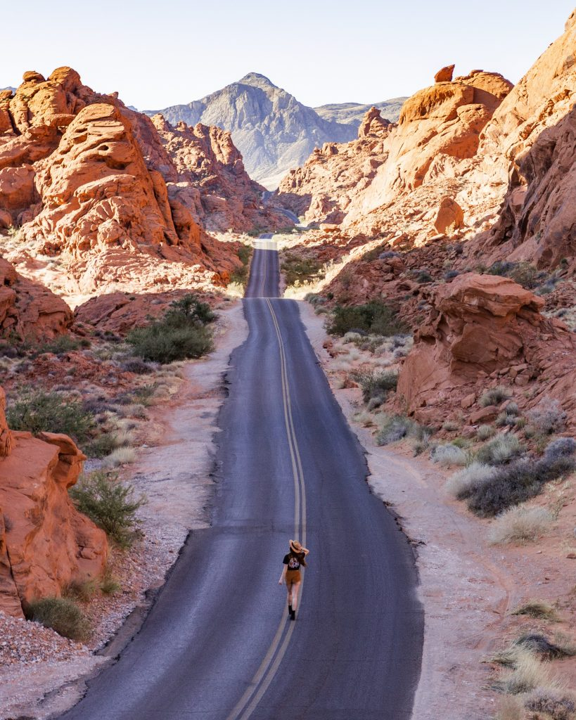 Valley of fire State Park near Las Vegas Nevada