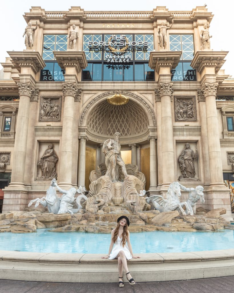 Trevi Fountain at the Forum Shops in Las Vegas, Nevada