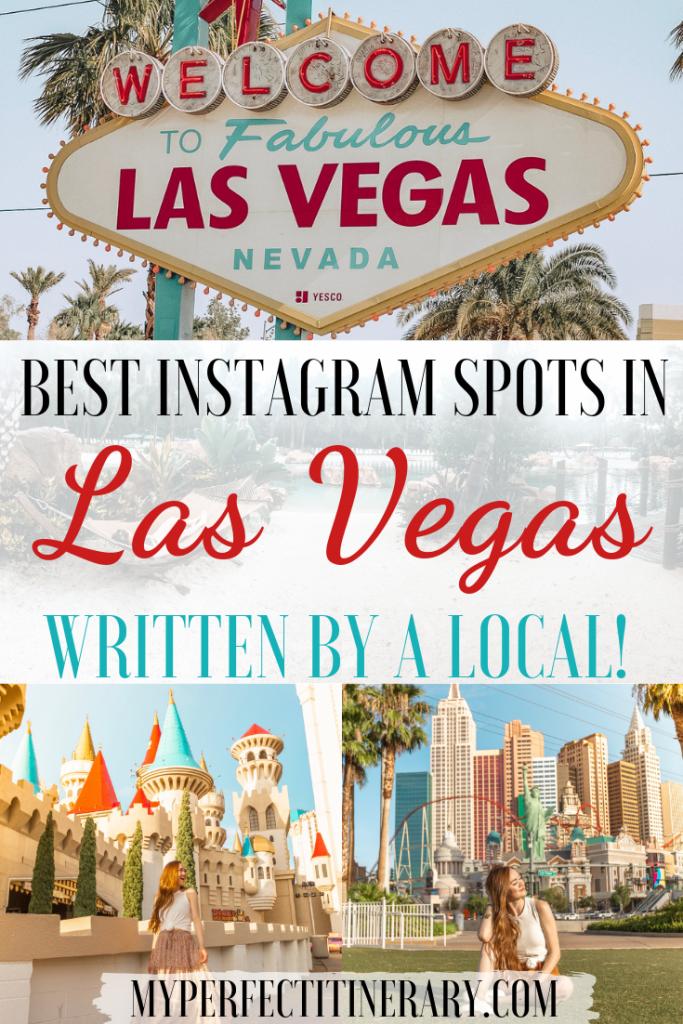 Las Vegas Instagram Spots Pin