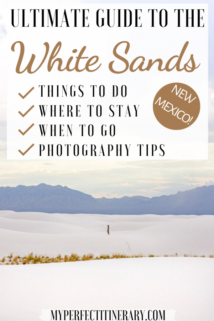 Guide to White Sands Pin