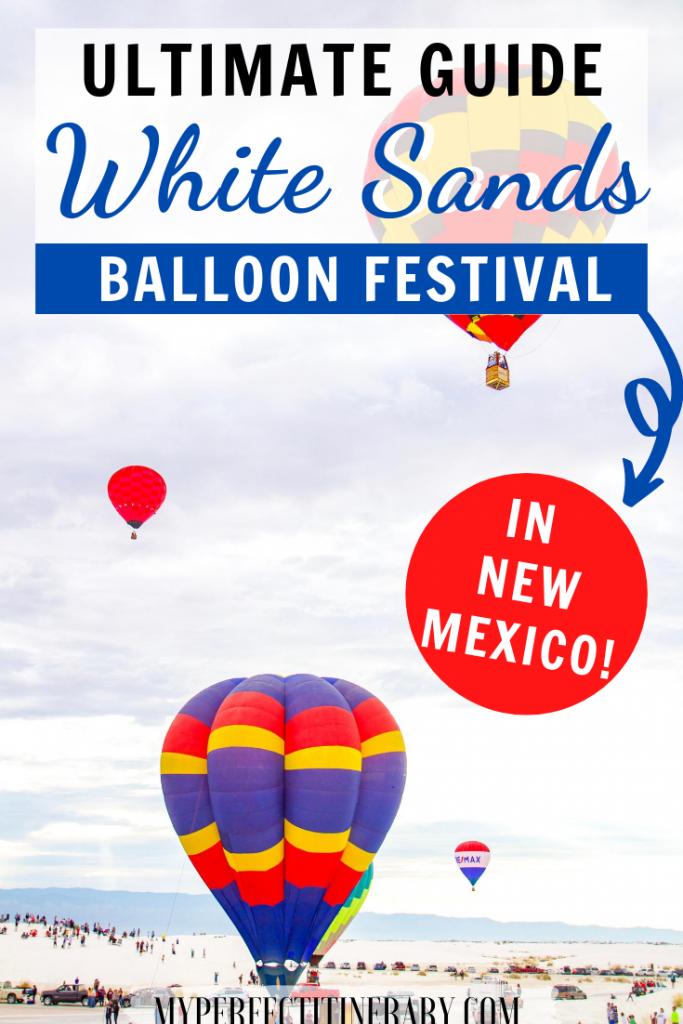 White Sands National Monument Balloon Festival