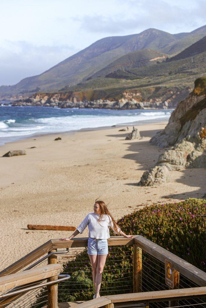 Garrapata Beach along the Big Sur in California