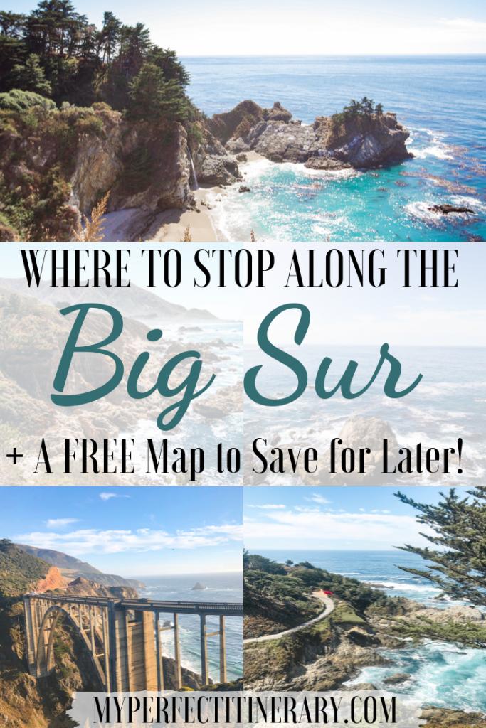 Big Sur Road Trip Pin