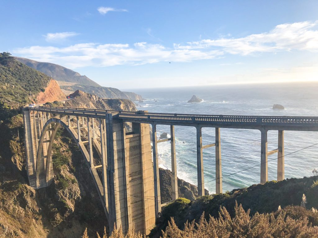 Bixby Creek Bridge on Big Sur Road Trip Itinerary