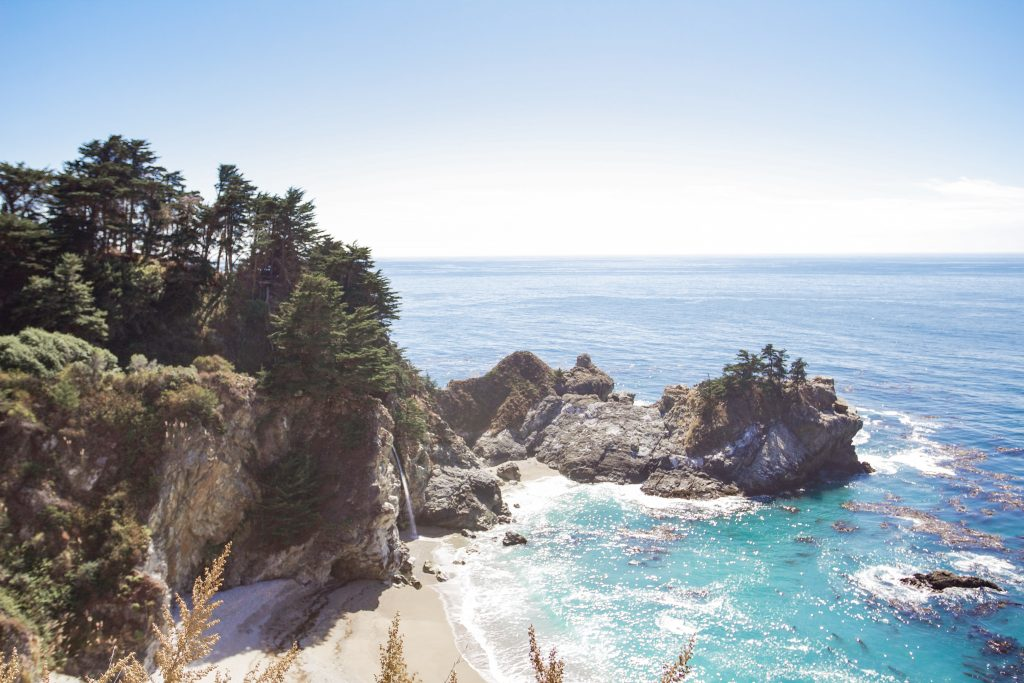 McWay Falls on Big Sur Road Trip