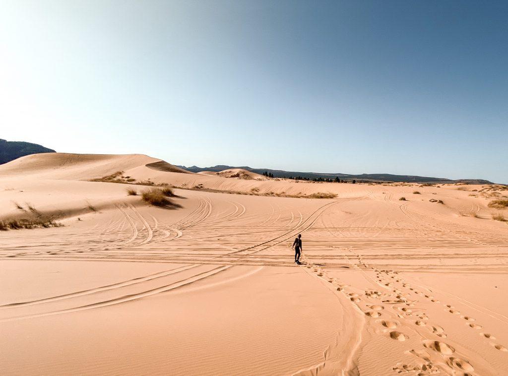 Coral Pink Sand Dunes in Utah
