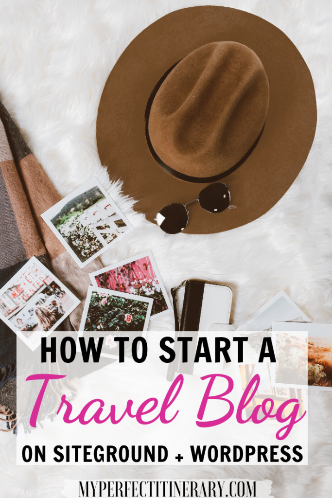 how to start a travel blog 2020
