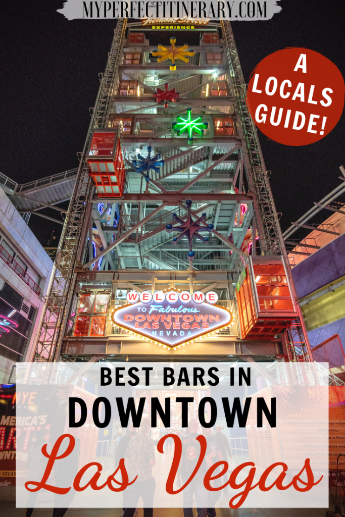 Best Bars in Downtown Las Vegas PIN