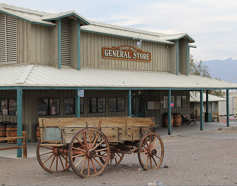 Stovepipe Wells Hotel in Death Valley