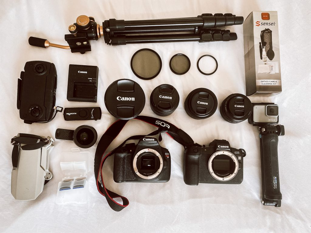 What is in a Travel Bloggers Camera Bag